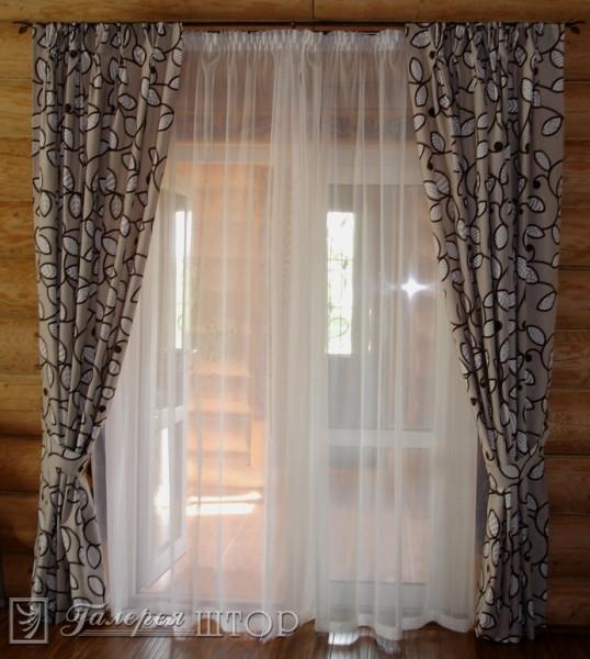 ГалереЯ штор - шторы для балконов, дверных проемов, лестничн.