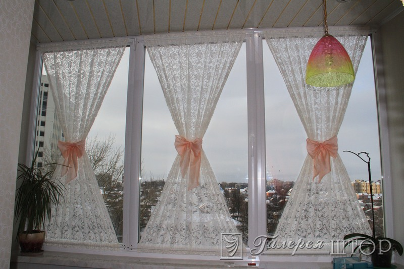 Банты на шторах