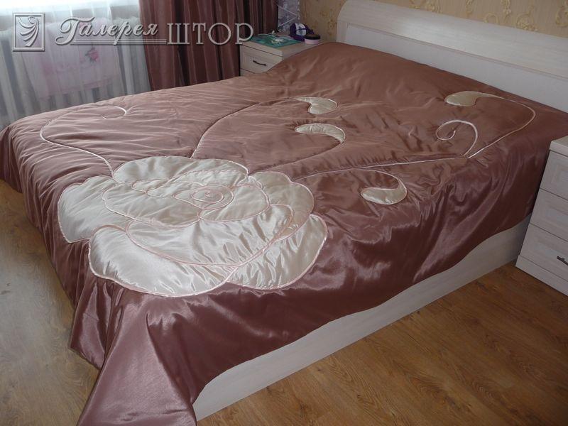 Покрывала для кровати с аппликацией