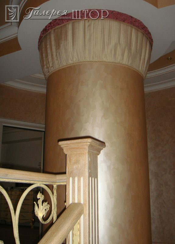 Декорирование колонные