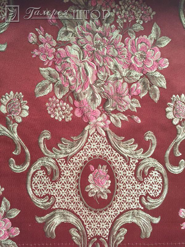 Вышивка на портьерной тафте